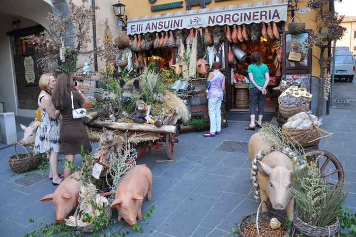 Norcia: Italy's capital of pork