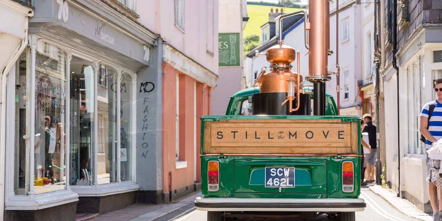 Still on the Move: the UK's first mobile distillery