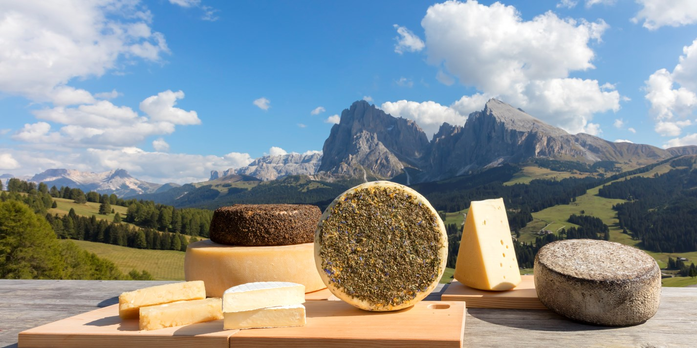 The cheeses of South Tyrol