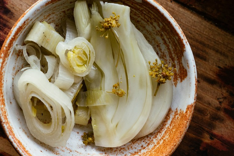 Fermented fennel