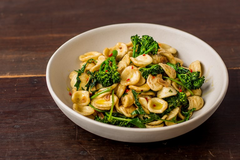 Ricetta Orecchiette Cima Di Rapa.Orecchiette Con Cime Di Rapa Recipe Great Italian Chefs