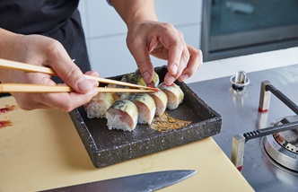 Great British Chefs Academy: sushi – lesson three