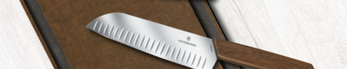 Win two Swiss made kitchen knives & chopping board worth £230