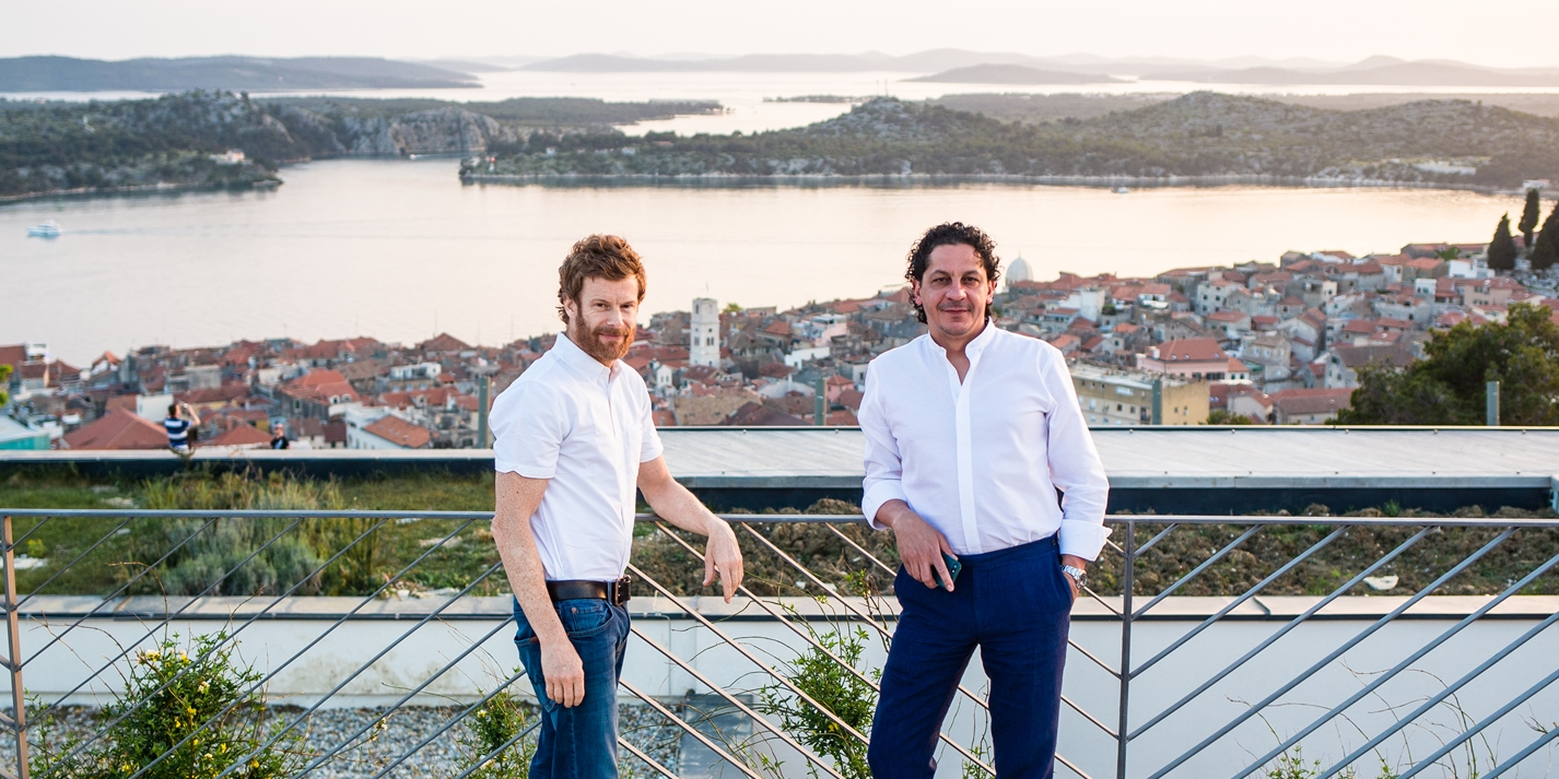 Chefs on tour: Tom Aikens and Francesco Mazzei in Croatia