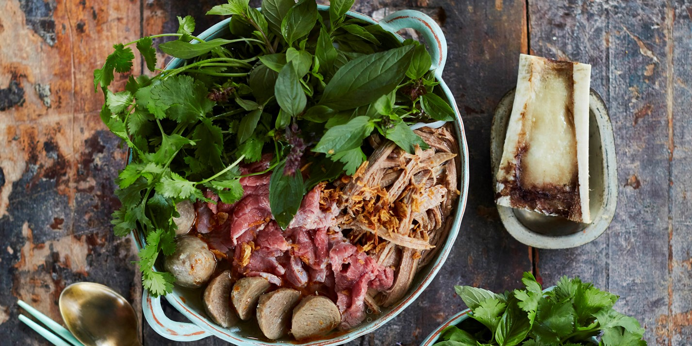 Beef Pho Recipe - Great British Chefs