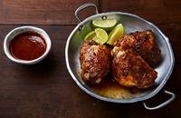 Awaze chicken thighs
