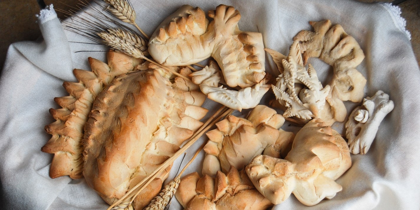 The breads of Sardinia