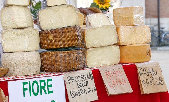 The cheeses of Sardinia