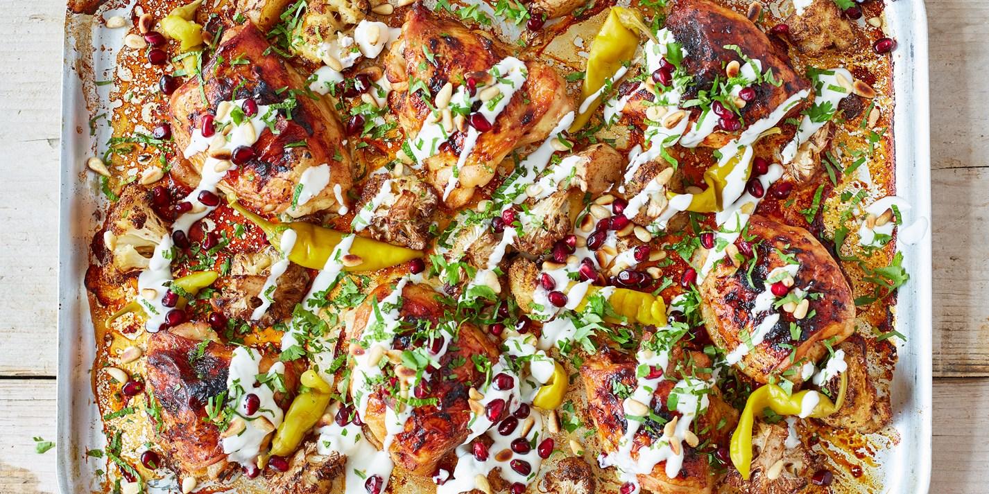 Harissa-Marinated Chicken Recipe - Great British Chefs