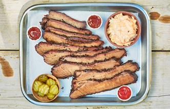 Barbecued brisket