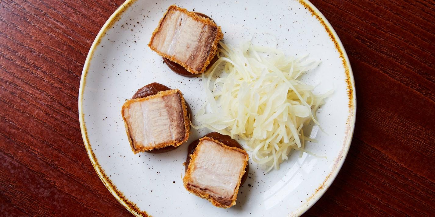Crispy Pork Belly Canape Recipe - Great British Chefs