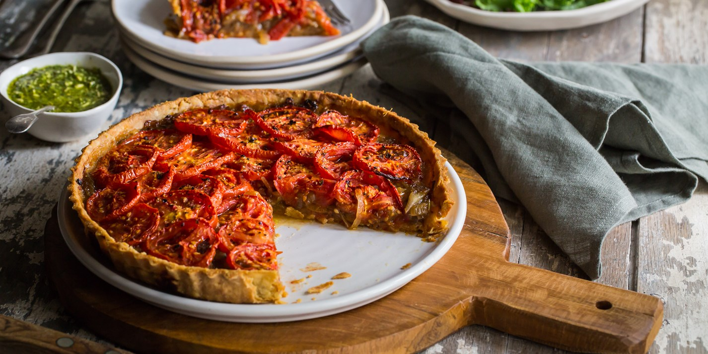 Tomato and Gruyère Tart Recipe - Great British Chefs