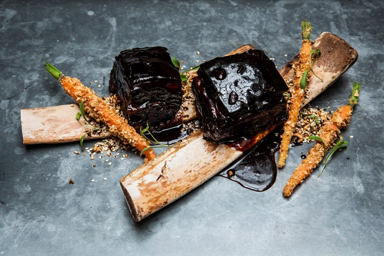 Soy Braised Beef Short Rib Recipe Great British Chefs