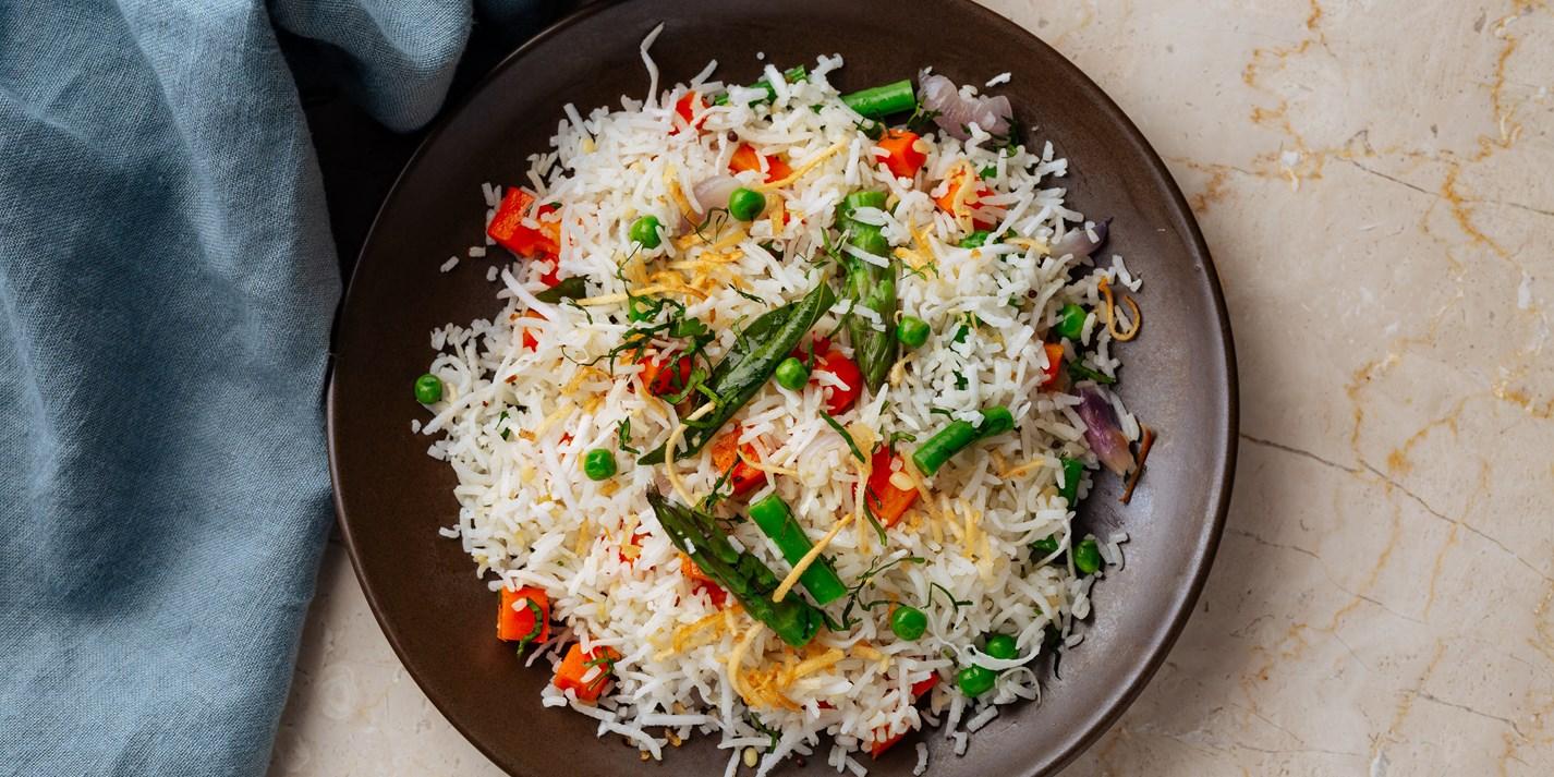 Keralan Coconut Rice Recipe - Great British Chefs