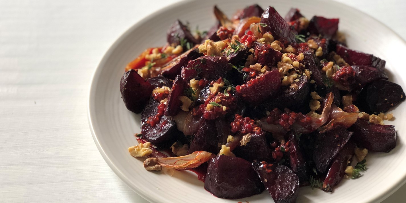 Beetroot, Walnut and Thyme Salad Recipe - Great British Chefs