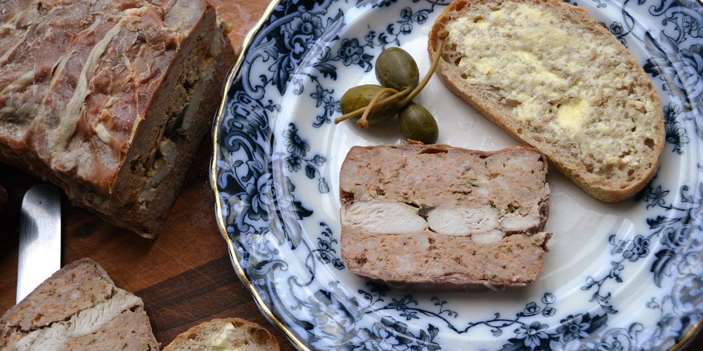 Veal, Pork and Ham Terrine Recipe - Great British Chefs