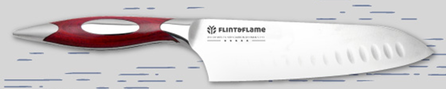 Win a Flint & Flame professional fish knife set for Seafood Week