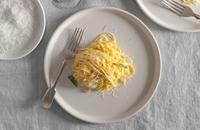 Tajarin Burro e Salvia – Tajarin pasta with butter and sage