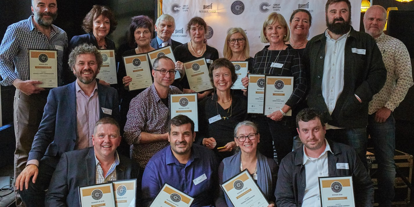 Great British Cheese Awards 2018: the results
