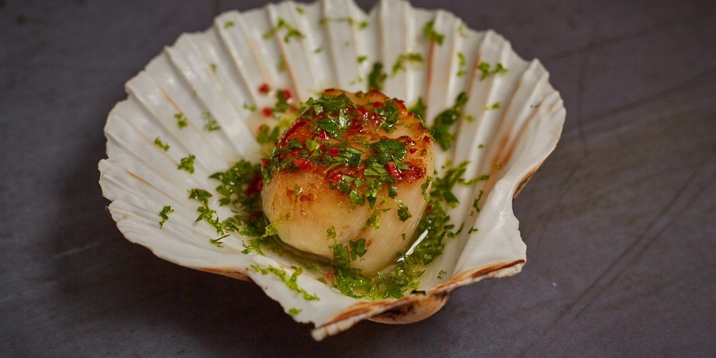 Scallop, Coriander and Lime Canapés Recipe - Great British Chefs