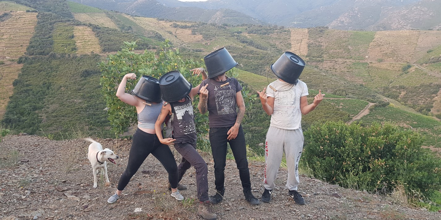 Collectif Anonyme: the faceless winemakers of southern France