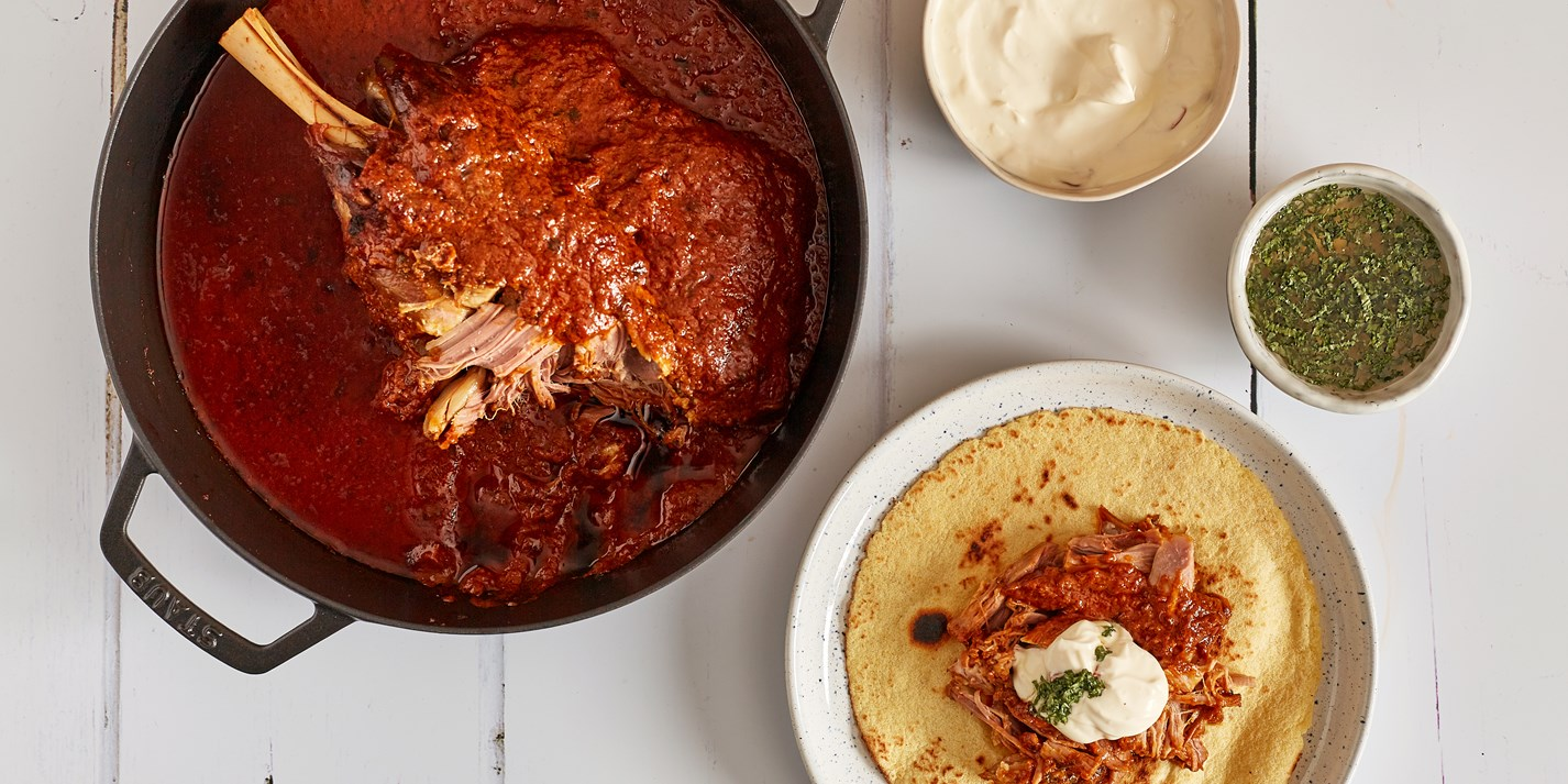 Slow-Cooked Curried Lamb Shoulder Recipe - Great British Chefs