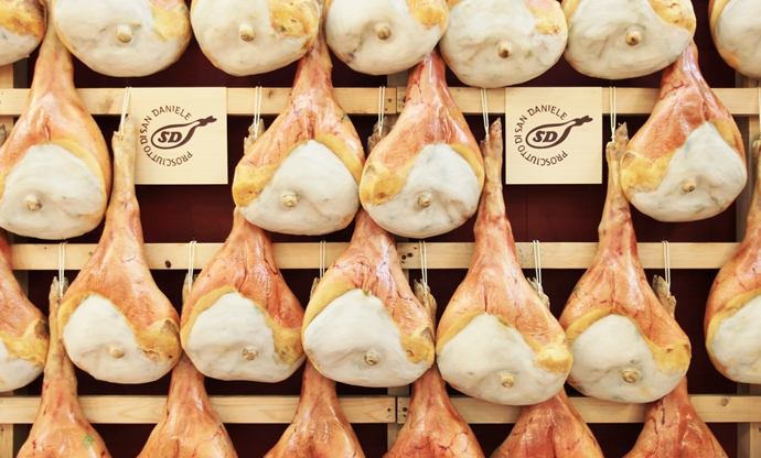 Prosciutto di San Daniele: king of the hams