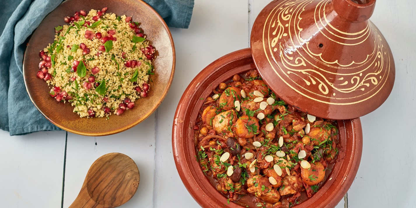 Chicken Tagine Recipe - Great British Chefs