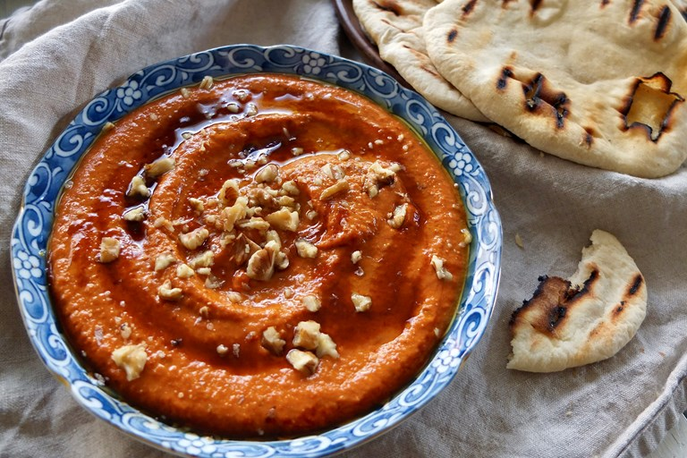 Smoky barbecue muhammara