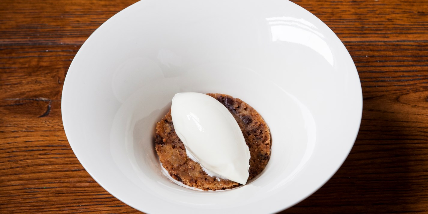 Milk Meringue, Whey Ice Cream and Cookies recipe - Great British Chefs