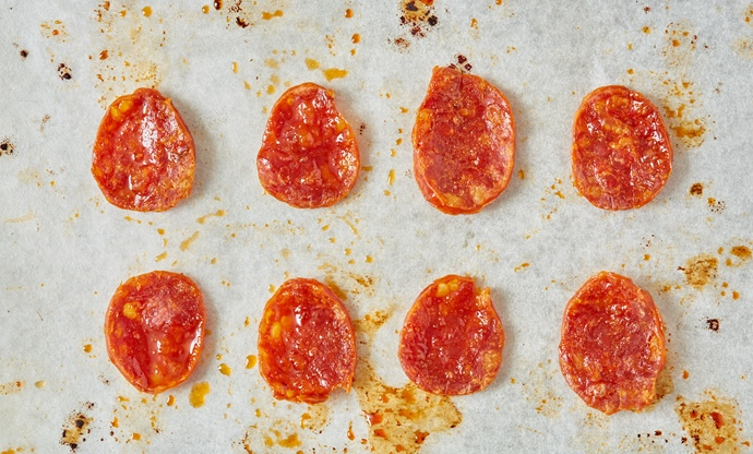 How to make chorizo crisps