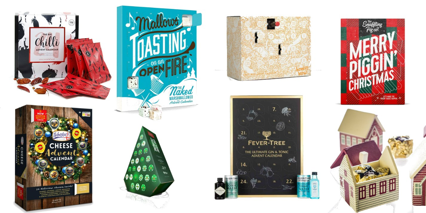 Best Advent Calendars 2019 12 of the Best Foodie Advent Calendars for 2018   Great British Chefs