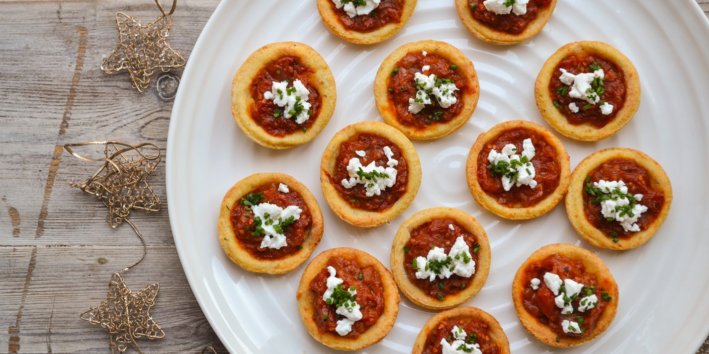 Tomato Tarlet Recipe with Polenta Pastry - Great British Chefs