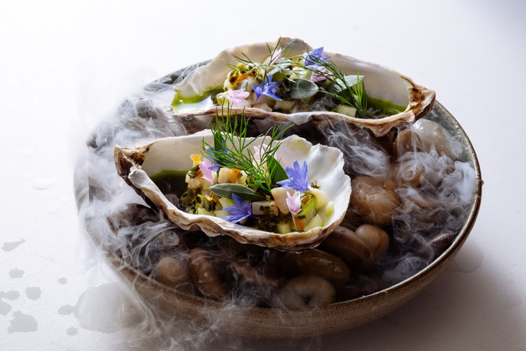 Oyster and scallop