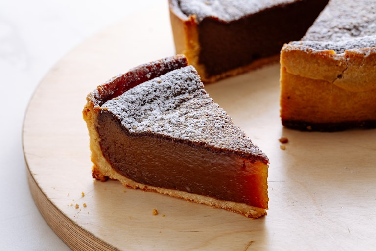 Spiced Caramel Tart Recipe Great British Chefs