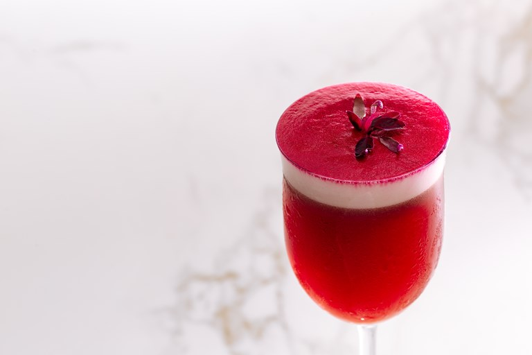 Beetroot cocktail