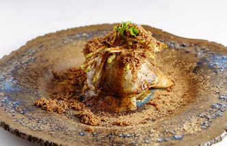 """Mother"" - Salt baked celeriac, truffle and date"