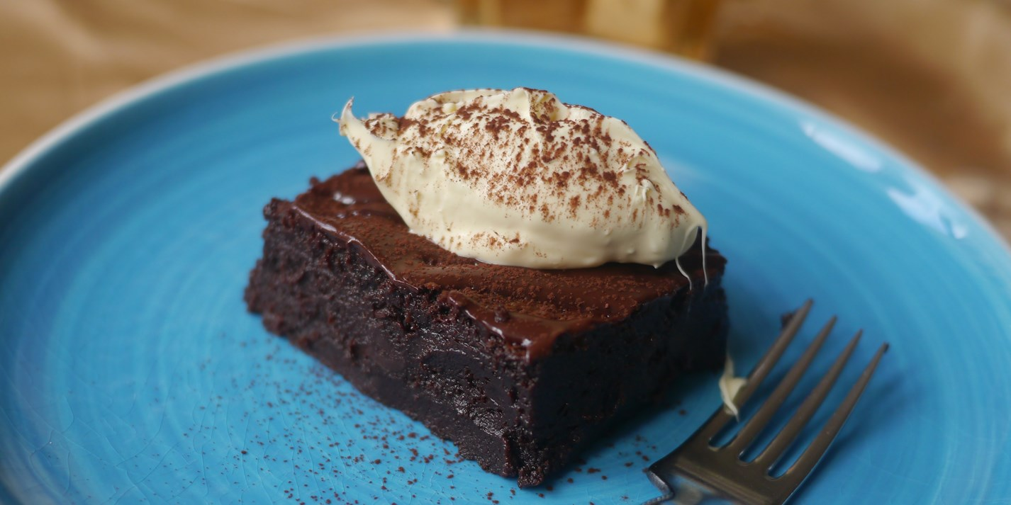 Gluten-Free Mulled Chocolate Brownie Recipe - Great British Chefs