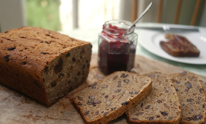 Gluten free spiced winter loaf