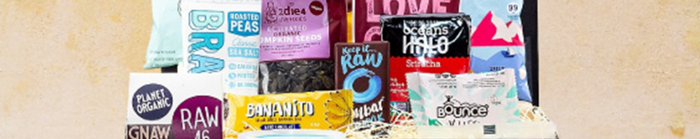 Win vegan snack hamper worth £50