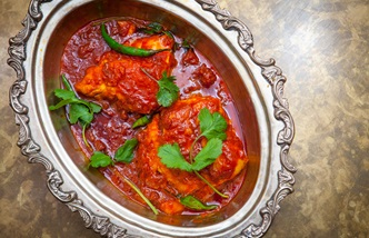 Macher jhol - Bengali fish curry