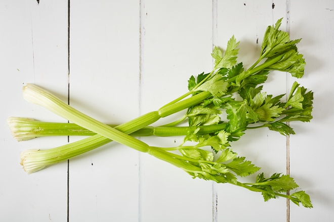 Unglamorous vegetables: celery