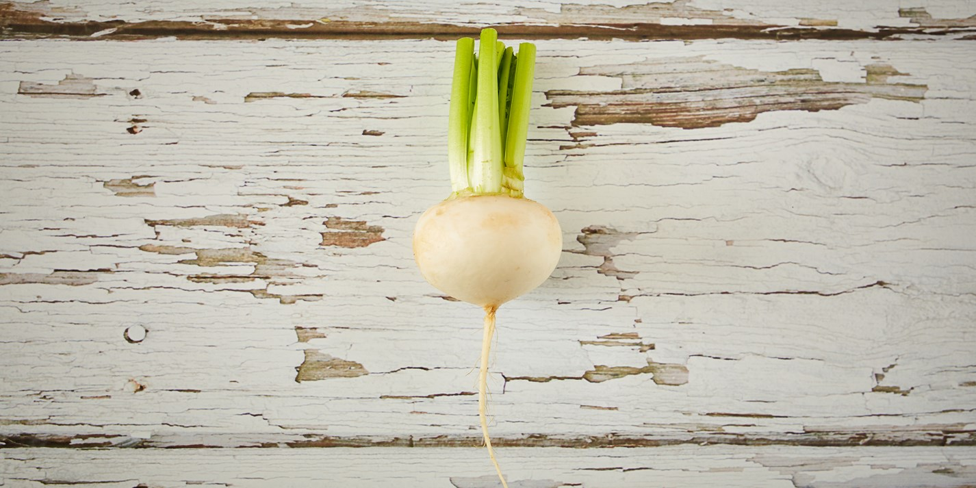 Unglamorous vegetables: turnips