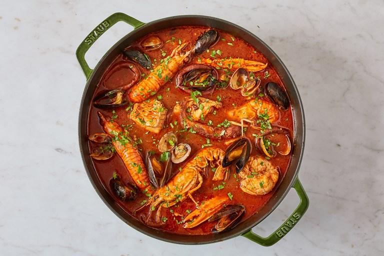 Cacciucco – Tuscan seafood stew