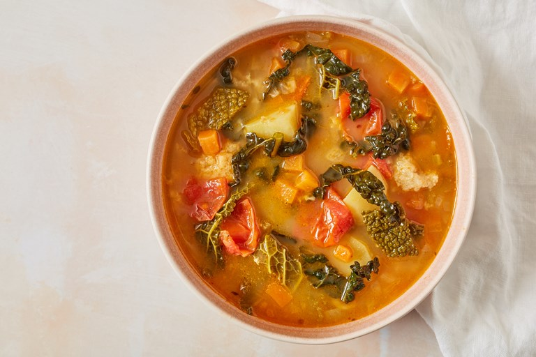 Ribollita – Tuscan vegetable and bread soup