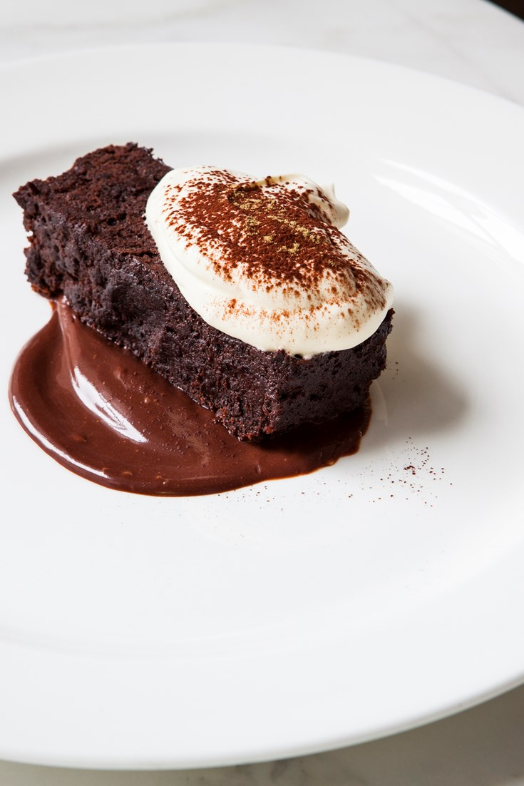 Chocolate Mousse Cake Recipe with Liquorice Ganache - Great British Chefs
