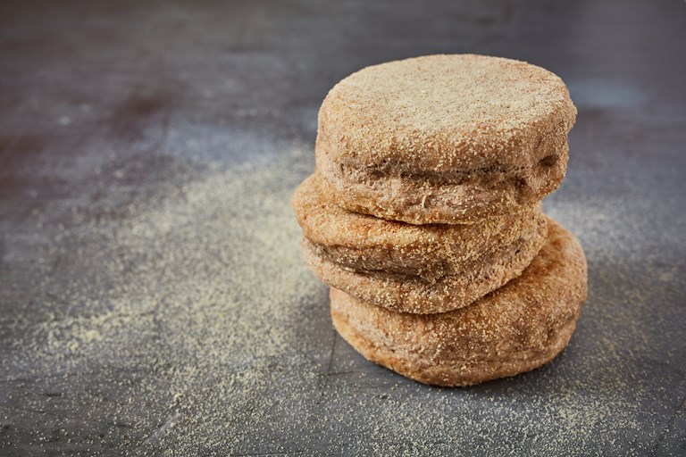 Wholemeal spelt English muffins
