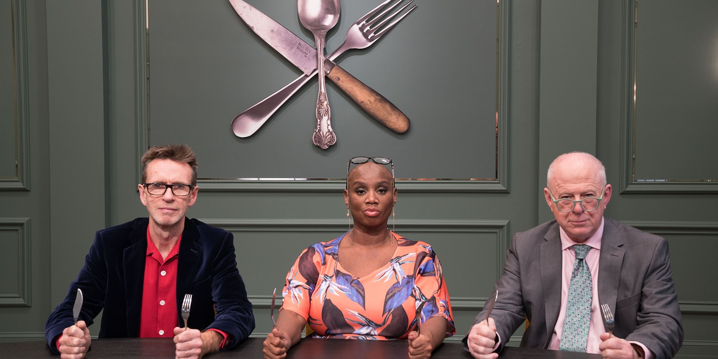 Announcing the chefs from BBC's Great British Menu 2019