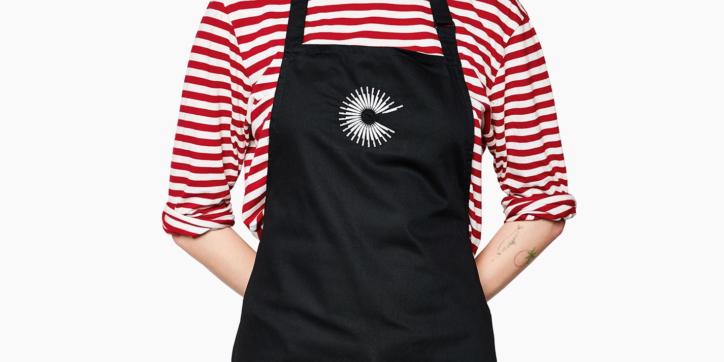 The Great British Chefs apron: international orders