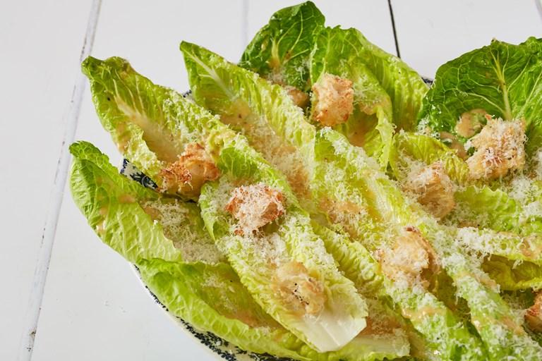 Caesar Salad Recipe Lettuce